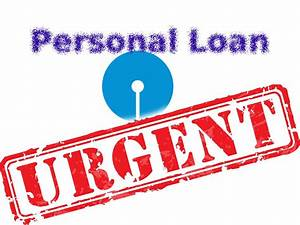 Urgent or Emergency Personal Loan - SBI Saral Personal ...