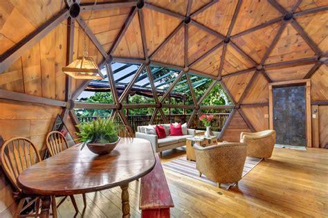 Casa Cupola Geodetica by Geometric Dome Home La Bellissima Casa Geodetica Di San