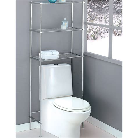 shelf ideas for bathroom bathroom toilet space saver in the toilet shelving