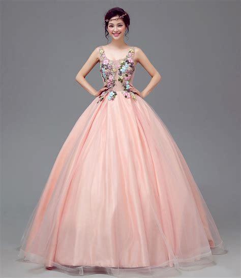 u neck lace floral sleeveless pink sweet 16 princess