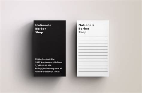 sample blank business card templates