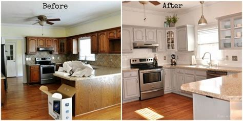 before and after photos of painted kitchen cabinets fabulous painted kitchen cabinets before and after kitchen 9888