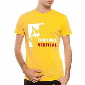 Tee Shirt Jaune Homme : tee shirt grimpe escalade equilibre vertical ~ Melissatoandfro.com Idées de Décoration
