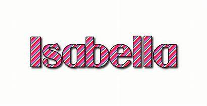 Isabella Logos Text Flamingtext