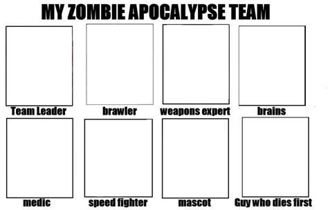 zombie apocalypse base team deviantart