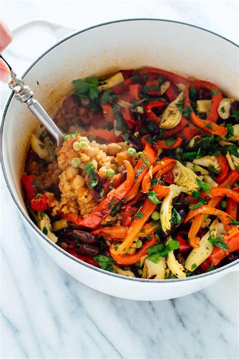 Vegetable Paella Recipe - Cookie and Kate - MasterCook