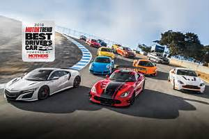 2016 Best Driver's Car Contenders Part 3Viper ACR, F Type SVR, 911 Carrera S, GT R Motor Trend