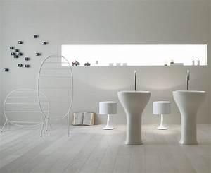 Il Lavabo Monolito Di Ceramica Globo