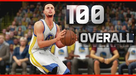 NBA 2K17 Stephen Curry 100 OVERALL POINT GUARD Parody ...