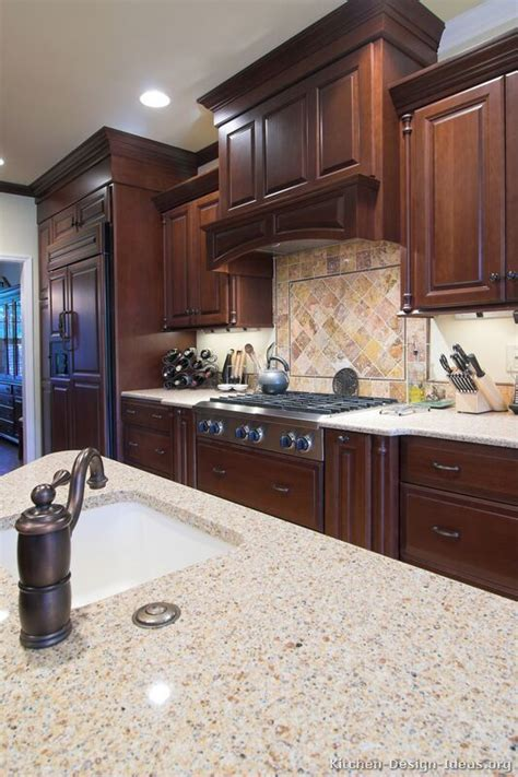 25 best ideas about cherry kitchen cabinets on