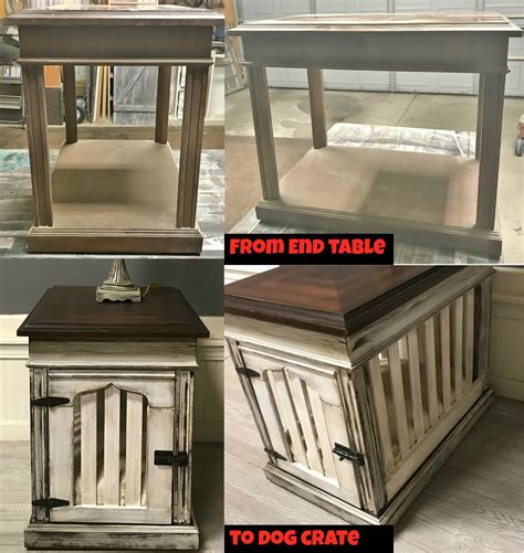 diy dog crate  table goodwillakronorg goodwillakronorg