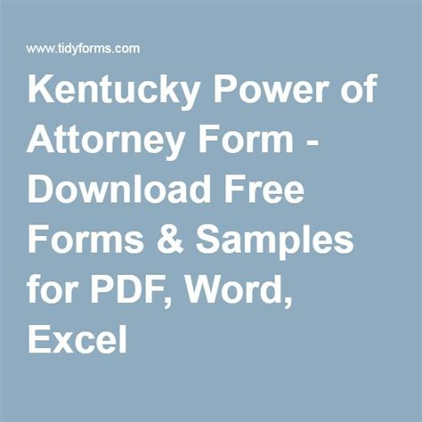 exle of power of attorney form best 20 power of attorney form ideas on pinterest power