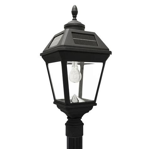 imperial bulb solar lamp  single lamp post  gs