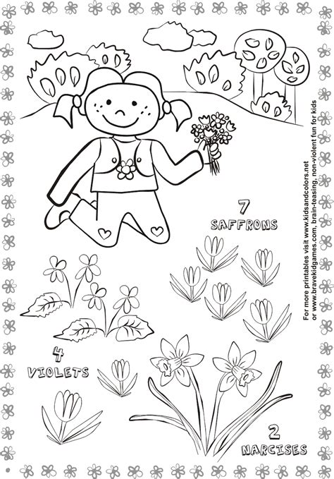 spring preschool worksheets 13 best images of nature worksheets for kindergarten 480