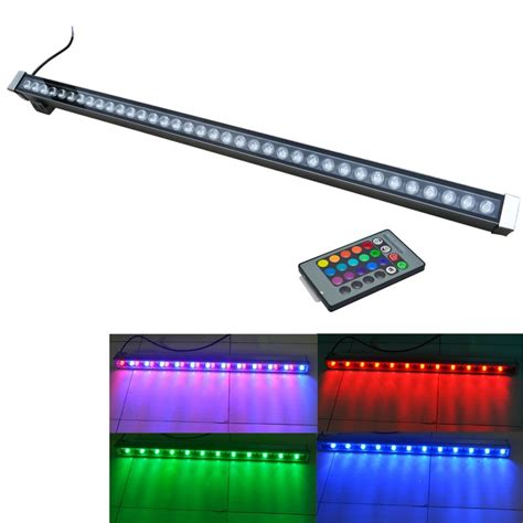 outdoor l flood light ip65 led wall washer l ac85 265v white red yellow blue green rgb