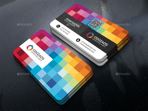 advertising agency business card  axnorpix graphicriver