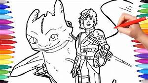 Dragon Trainer 3 Coloring Pages