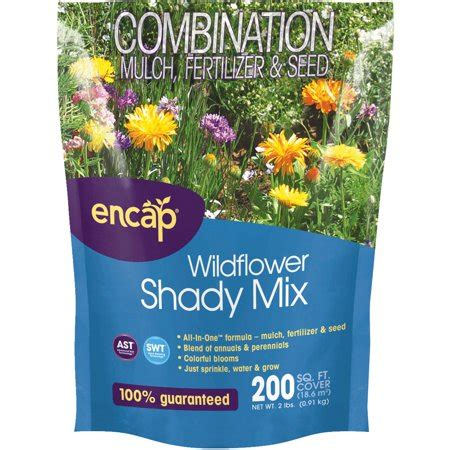 encap shady wildflower seed mix walmartcom