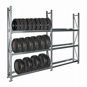 Rack A Pneu : rayonnage pour pneus 450kg rack ~ Dallasstarsshop.com Idées de Décoration