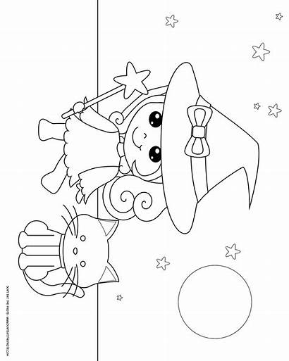Witch Coloring Halloween Colouring Donteatthepaste Printables Themed