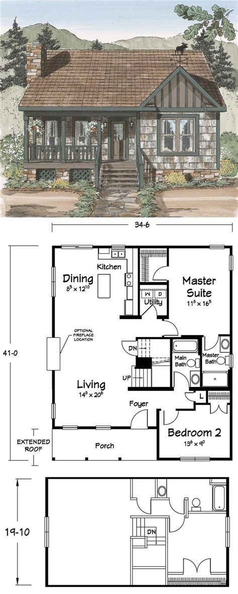 floor plans for small cottages floor plans tiny homes cabin small