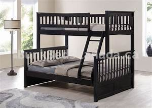 Bunk beds loft bed bed frame futon mattress specialists for Futon bunk bed canada