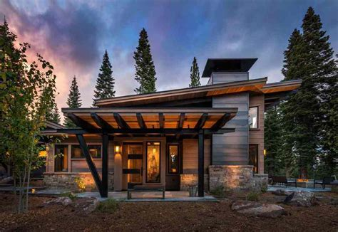 modern cabin floor plans decoration modern house plan