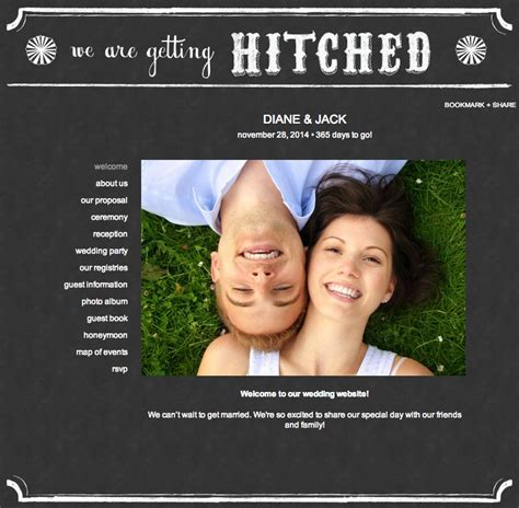 Theknot Websote Templates by Best Free Premium Wedding Website Templates Web