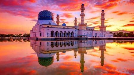 kota kinabalu city mosquemalaysia religious