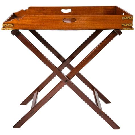 butler coffee table butler 39 s tray table mahogany for sale at 1stdibs