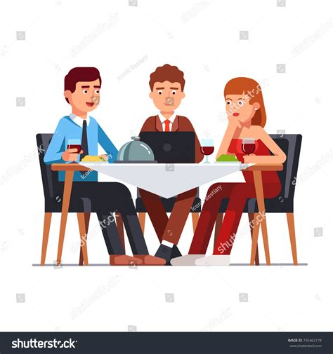 12667 business lunch meeting clipart business lunch meeting clipart lunch illustrations