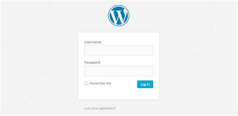 Logging Into Your Wordpress Website • Web Developer Galway