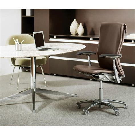 bureau knoll florence knoll oval table desk modern furniture