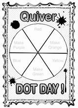 Quiver Kindergarten Dryden Drydenart Primary Coloringnori Quivervision Birijus Colorwheel Colorwheels sketch template