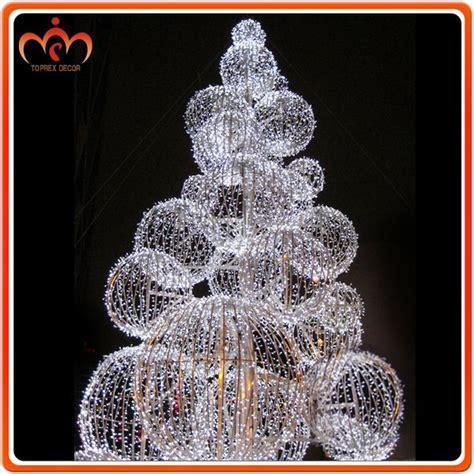dismountable ball tree outdoor christmas decorations