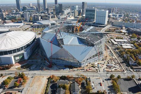 Stadium, arena & sports venue in new orleans, louisiana. Mercedes Benz Stadium, Atlanta, Georgia- Most Innovative Stadium ever made