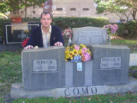 perry como burial site nostalgic rambler a visit to perry como s grave
