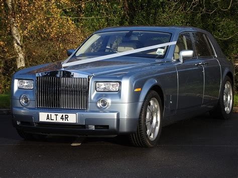 Rolls Royce Car : Rolls Royce Phantom Wedding Car