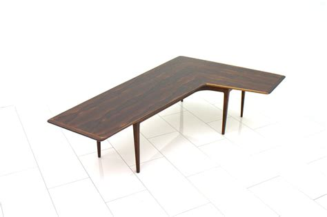 table and l in one l shaped rosewood coffee table 1960s for sale at pamono