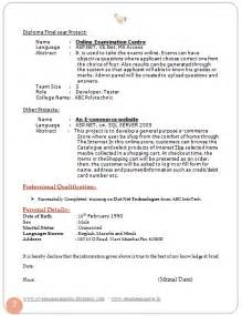 free professional curriculum vitae exles 10000 cv and resume sles with free