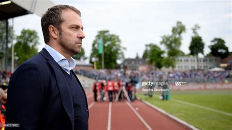 Check spelling or type a new query. Hans-Dieter Flick looks on prior to the U19 A-Juniors ...