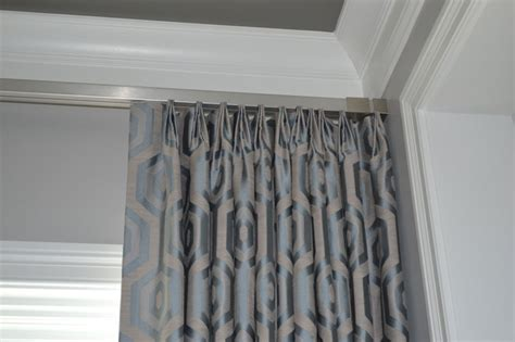 traverse rod curtains install drapery spruce interiors