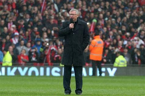 Video Sir Alex Ferguson's Speech  Old Trafford Faithful