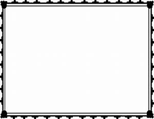 Free award certificate border clipart - Clipart Collection ...