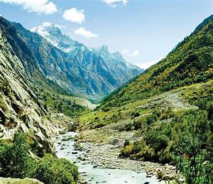 Valley Of River Ganga In Himalyas Mountain Photograph by