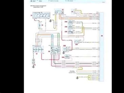 peugeot  wiring diagrams youtube
