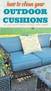 Patio Furniture Cushions Cleaning Example - pixelmari.com how to clean outdoor cushions patio furniture