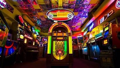 Arcade Retro Jukebox Colorful Games Wallhere Wallpapers