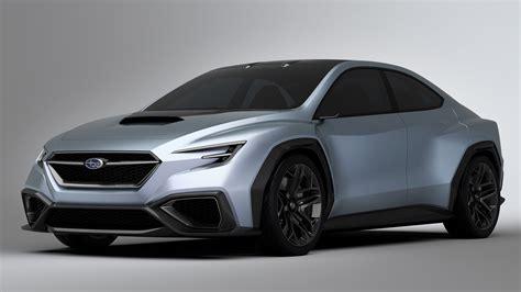 gen subaru wrx    lot   concept car