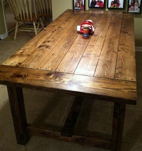 Diy Farmhouse Table $90  Woodworking Projects  Diy